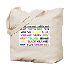 Stroop Effect Tote Bag