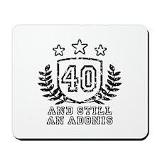 40th Birthday Mousepad