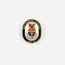 USS Thomas S. Gates CG 51 US Navy Ship Mini Button