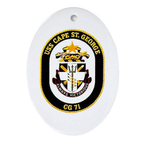 USS Cape St. George CG 71 US Navy Ship Ornament (O