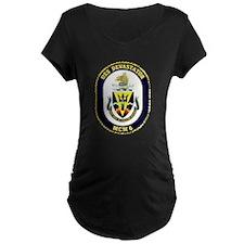 USS Devastator MCM 6 USS Navy Ship T-Shirt