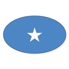 Somalia Flag Oval Decal