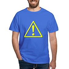 Yellow Caution ! T-Shirt
