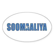 Somalia Oval Decal