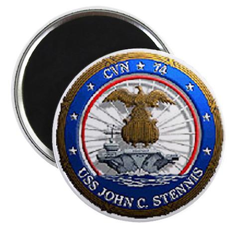 USS John C. Stennis CVN 74 USS Navy Ship Magnet