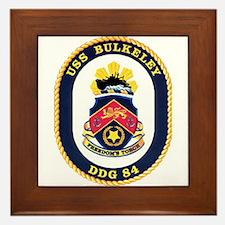 USS Bulkeley DDG 84 US Navy Ship Framed Tile