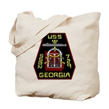 USS Georgia SSBN 729 US Navy Ship Tote Bag