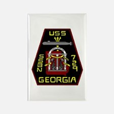 USS Georgia SSBN 729 US Navy Ship Rectangle Magnet