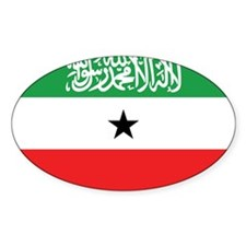Somaliland Flag Oval Decal