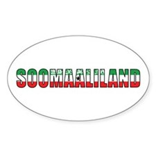 Somaliland Oval Decal