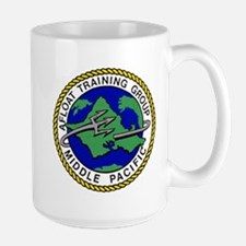 Afloat Training Group Middle Pacific logo US Navy