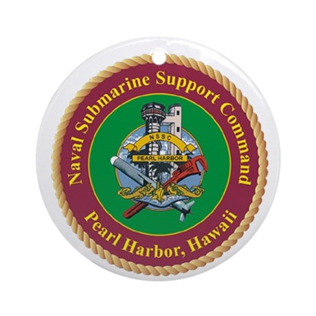 Naval Submarine Support Command Pearl Harbor Ornam
