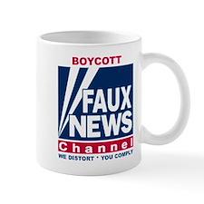 Boycott Fox News Mug