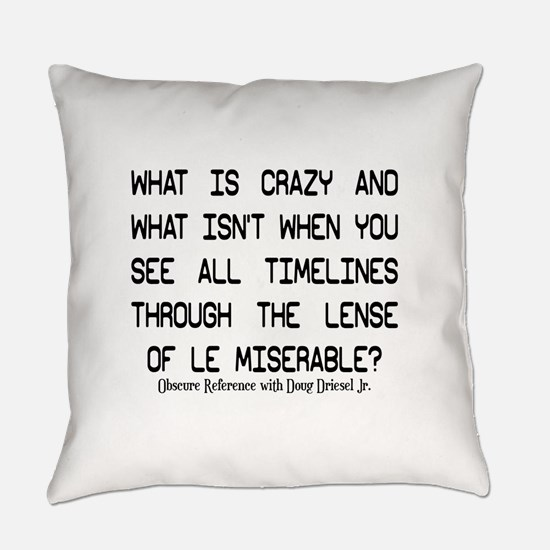 Le Mis Everyday Pillow