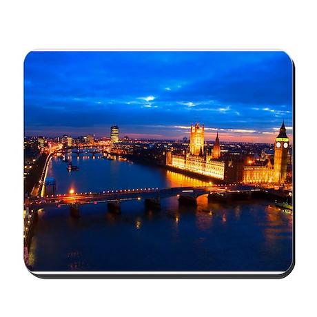 Cityscape of London at Night Mousepad