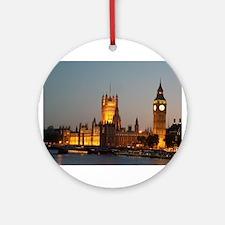 Houses of Parliament Illumina Ornament (Round)