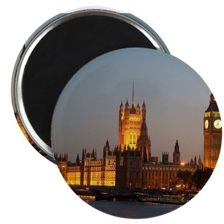 Houses of Parliament Illumina Magnet