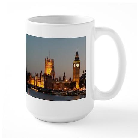 Houses of Parliament Illumina Large Mug