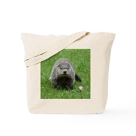 Groundhog (Woodchuck) Tote Bag