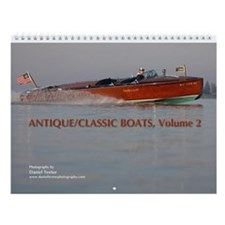 Antique/Classic Boats, Vol 2 Wall Calendar
