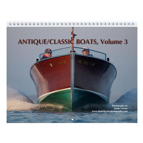 Antique/Classic Boats, Vol 3, Wall Calendar