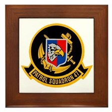 Patrol Squadron VP 47 US Navy Ships Framed Tile