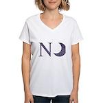 New Moon Women's V-Neck T-Shirt