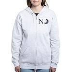 New Moon Women's Zip Hoodie