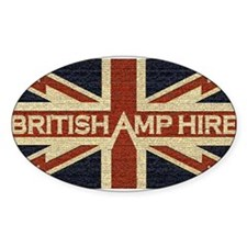 British Amp Hire Oval Decal