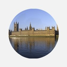 "Houses of Parliament Across t 3.5"" Button"