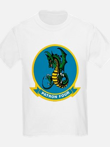 Patrol Squadron VP 4 US Navy Ships T-Shirt