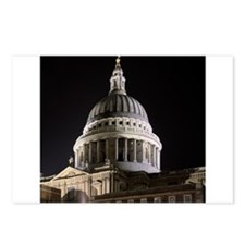 St Pauls Cathedral Illuminate Postcards (Package o