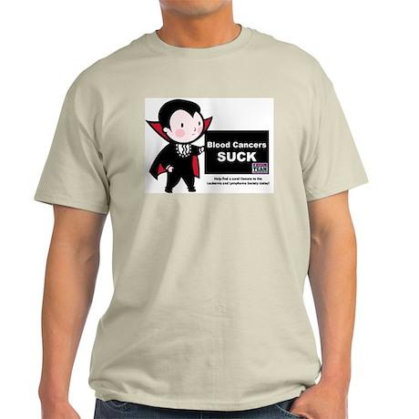 Blood Cancers Suck Light T-Shirt