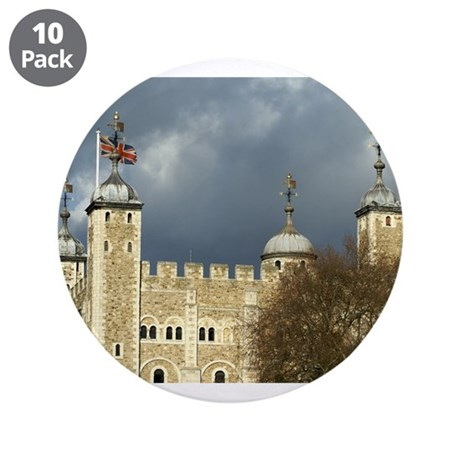"""Tower of London 3.5"""" Button (10 pack)"""