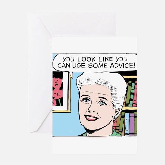 Advice Greeting Card