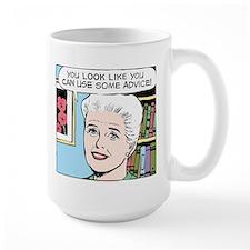 Advice Large Mug