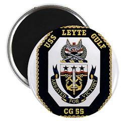 USS Leyte Gulf CG 55 US Navy Ship Magnet