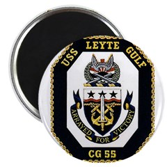 USS Leyte Gulf CG 55 US Navy Ship Magnet