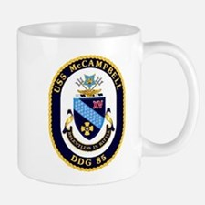 USS McCampbell DDG 85 US Navy Ship Mug