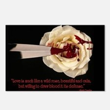 Cute Blood drips Postcards (Package of 8)