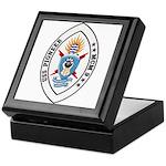 USS Pioneer MCM 9 US Navy Ship Keepsake Box