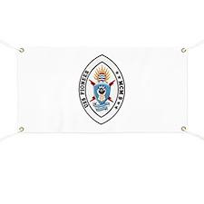 USS Pioneer MCM 9 US Navy Ship Banner