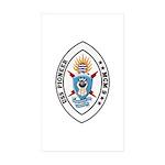 USS Pioneer MCM 9 US Navy Ship Rectangle Sticker