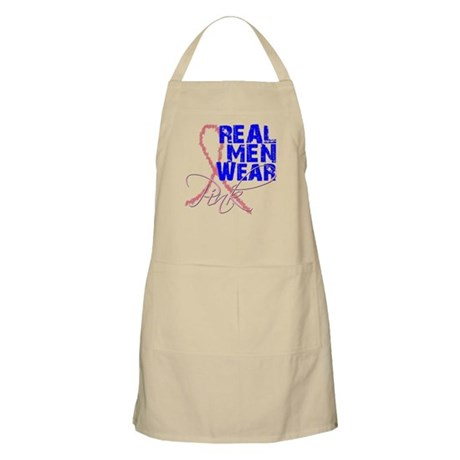 Real Men Wear Pink BBQ Apron