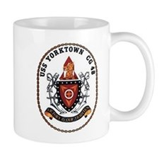 USS Yorktown CG 48 US Navy Ship Mug