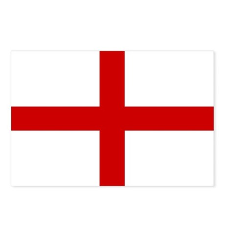St George Cross (Flag of Engl Postcards (Package o
