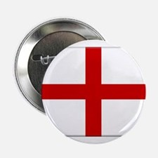 """St George Cross (Flag of Engl 2.25"""" Button"""