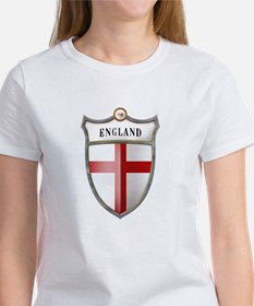 St George Cross Shield of Eng Women's T-Shirt