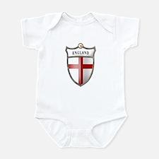St George Cross Shield of Eng Infant Bodysuit