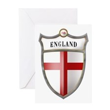 St George Cross Shield of Eng Greeting Card